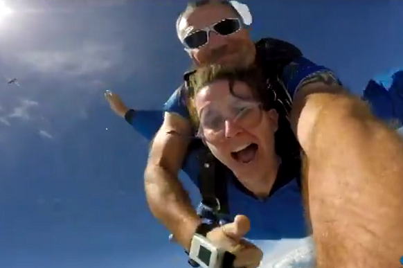MW skydiving 1