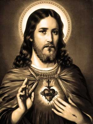 black-and-white-sacred-heart